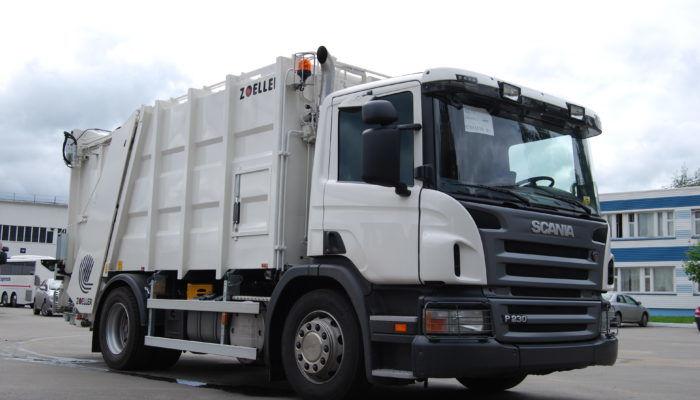 Мини-мусоровозы на шасси Scania