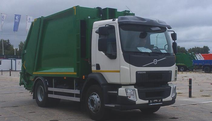 Мини-мусоровозы на шасси Volvo