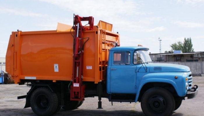 Мини-мусоровозы на шасси ЗИЛ