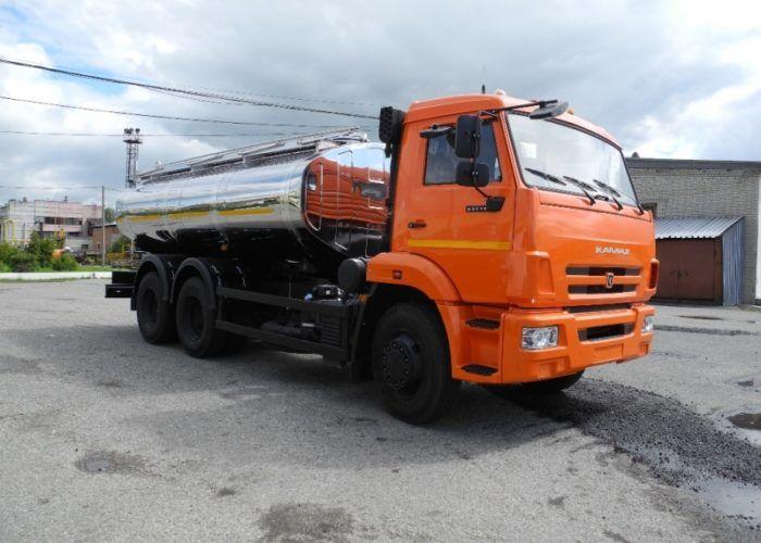 Молоковоз 56774-21 (АЦПТ-13) на шасси КАМАЗ 65115