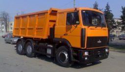 Перевозка сыпучих грузов самосвалом Маз 551605