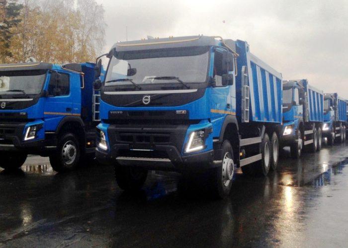 Полноприводные самосвалы Volvo FMX
