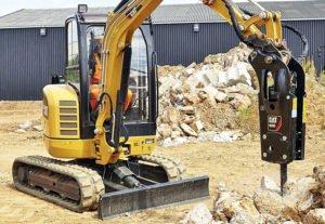 Применение гидромолота в строительстве