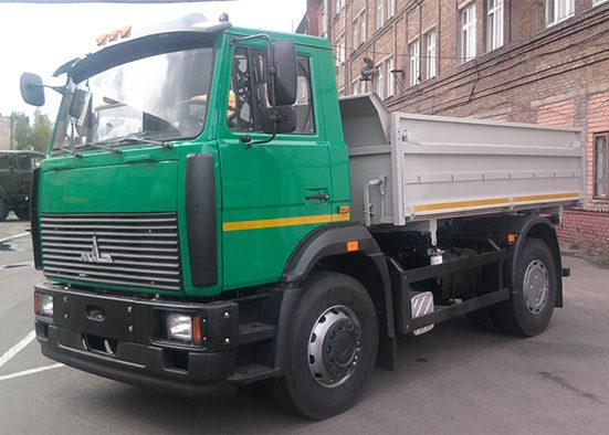 Самосвал МАЗ-5551 обычного тюнинга