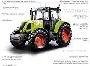 Серия тракторов Arion