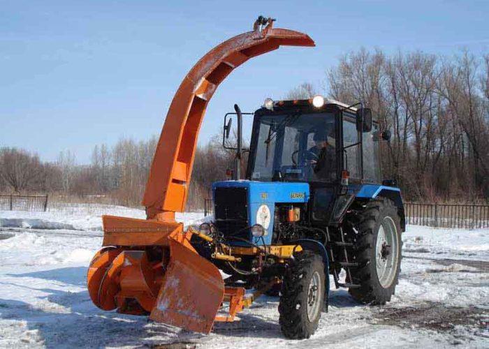 Снегоуборочная машина СУ 2.1