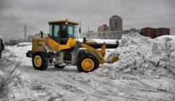 Снегоуборочные работы. Услуги трактора. Уборка снега. Вывоз снега в Красноярске