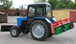Трактор с Отвалом и Щёткой для уборки снега в аренду в Омске
