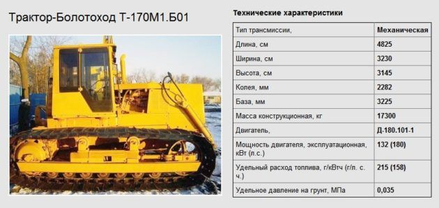 Трактор т 170