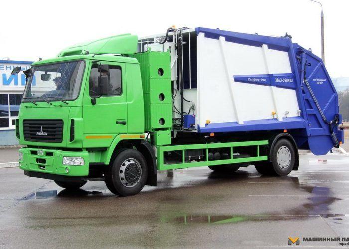 Тюнинг Маза 5551 зеленого цвета