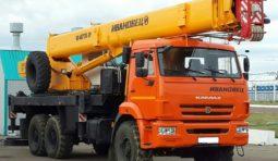 Услуги автокрана ГАЛИЧАНИН 50 тонн 57 метров