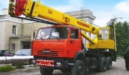 Услуги автокрана Ивановец 25 тонн (КС-45721)