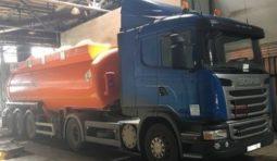 Услуги бензовоза Скания G400