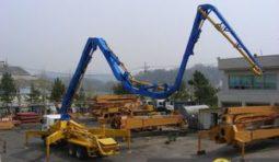 Услуги бетононасоса 44 метра