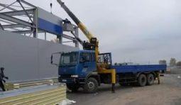 Услуги манипулятора 5-10 тонн