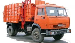 Услуги мусоровоза c порталом КО-427-01 на шасси КамАЗ 65115 Евро3