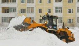 Услуги трактора на уборку снега.