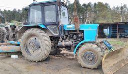 Услуги трактора с щеткой Беларусь МТЗ-82