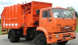 Вывоз мусора мусоровозом МКЗ на базе КАМАЗ 53605-62 (МКМ 4605)