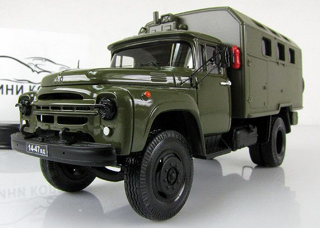 ЗИЛ-130 кунг КМ-130, военный