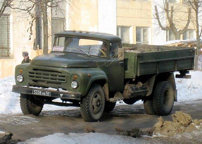 ЗИЛ 130 военный
