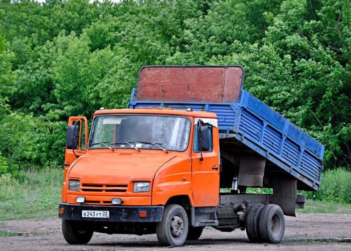 ЗИЛ-5301 оранжевый самосвал