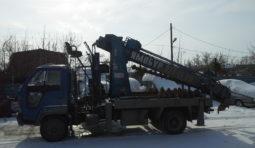 Заказать спецтехнику ямобур ямобуры на базе японских грузовиков