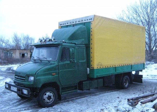 ЗиЛ 5301 Бычок зеленого цвета