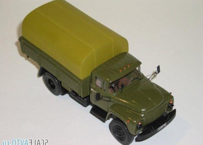 Зил-130 военный с тентом