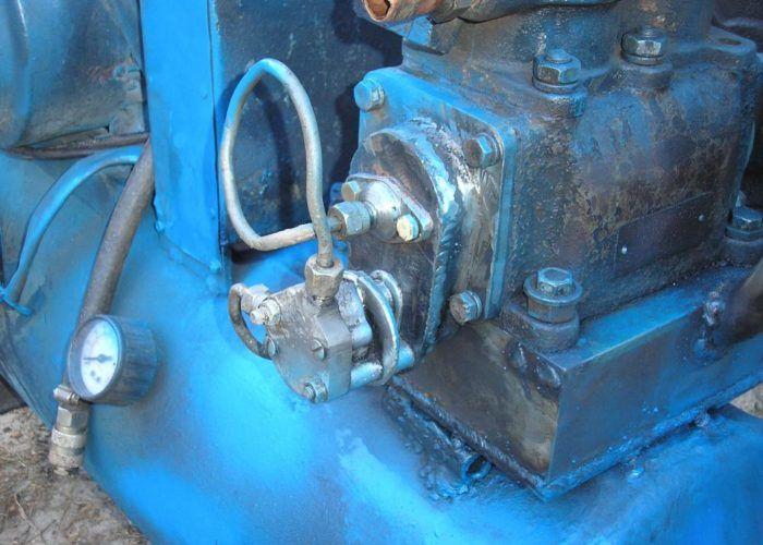 компрессор из ЗИЛ 130