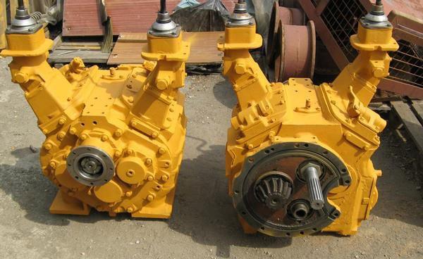 Коробка передач (КПП) трактора Т-170