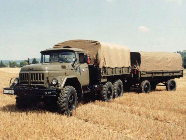 Зил 131 изначально проектировался для военных нужд