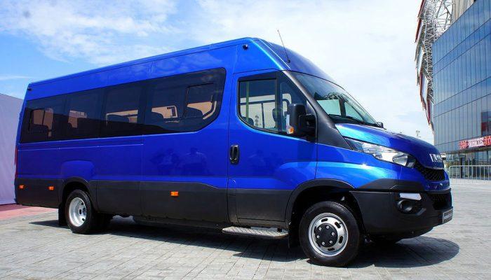 Ивеко Дейли (Iveco Daily) микроавтобус