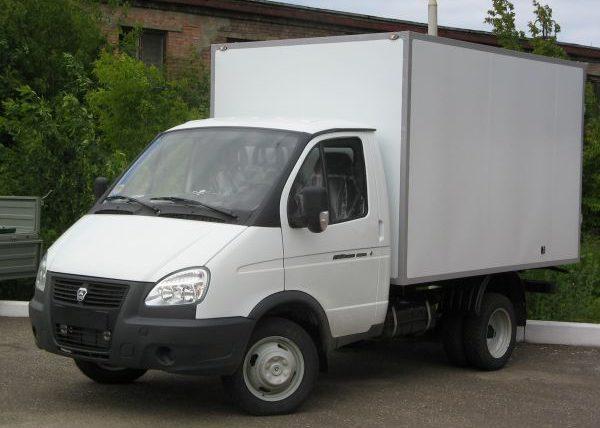 ГАЗель 3302 с изотермическим фургоном
