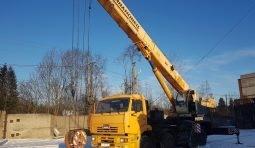 Аренда автокрана гп - 25 тонн вездеход