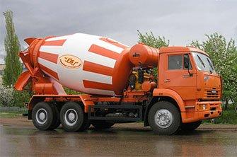 Аренда бетоновоза в Новосибирске