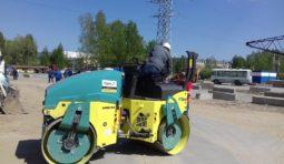 Аренда дорожного катка (4.1 тонна) в Тюмени