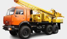Аренда ямобура МРК 750 на шасси КАМАЗ 4310 в Краснодаре