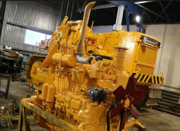 Двигатель бульдозера Т-170