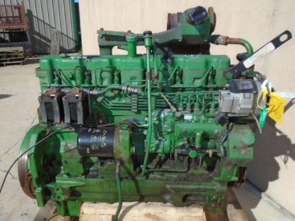Двигатель харвестера John Deere 1270D