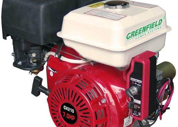 Двигатель с электростаретером Greenfield GF 170FE