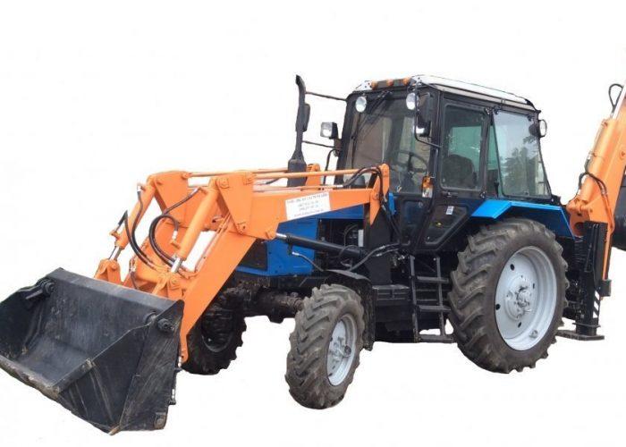Экскаватор-погрузчик БАМ-2014 на базе трактора МТЗ-82