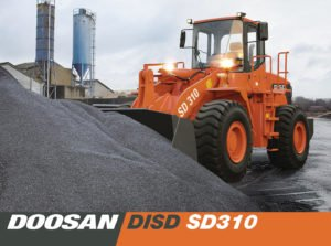 Фронтальный погрузчик Doosan DISD SD310