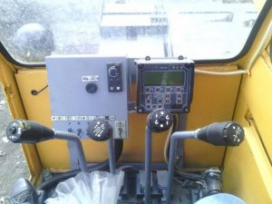 Рабочее место машиниста крана KC45717