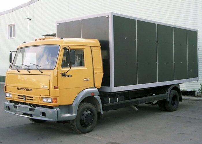 КамАЗ 4308 фургон для стройматериалов