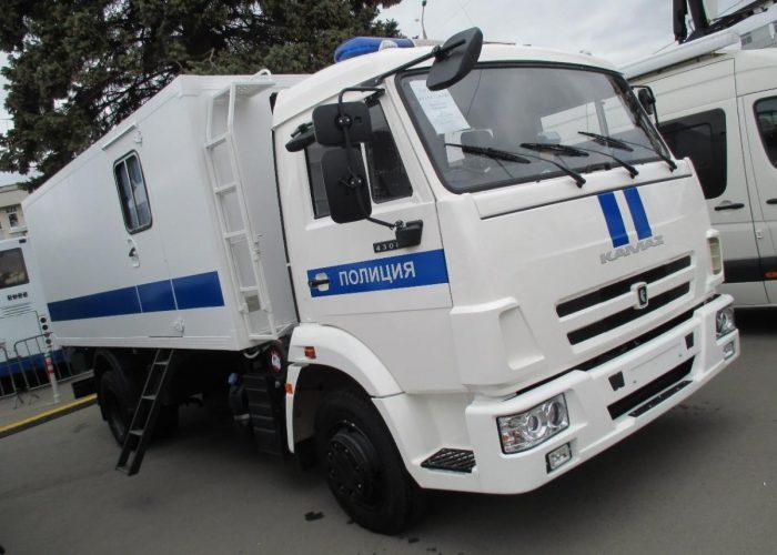 КамАЗ 4308 кузов для перевозки людей