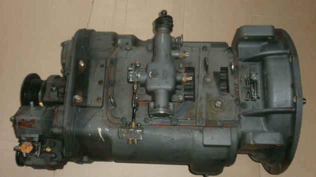 Коробка передач для самосвала Shacman 6x4 F3000