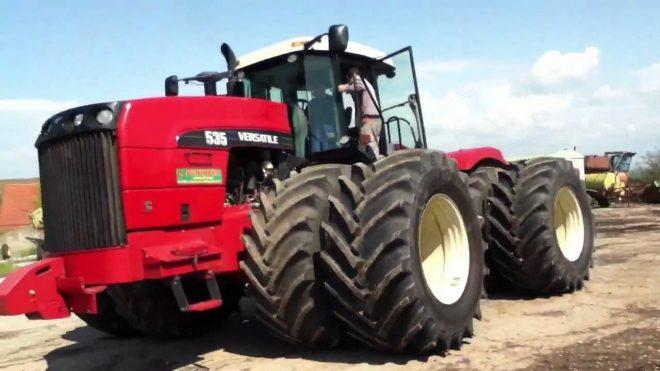 Мощные и большие трактора со всего мира
