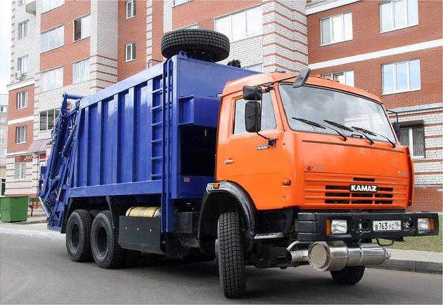 Назначение мусоровозов и бункеровозов