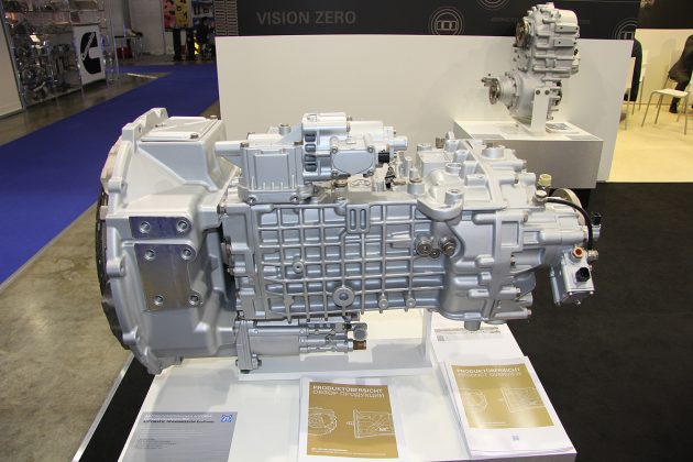 Новая 9-ступенчатая коробка переключения передач на автомобили КАМАЗ-65115